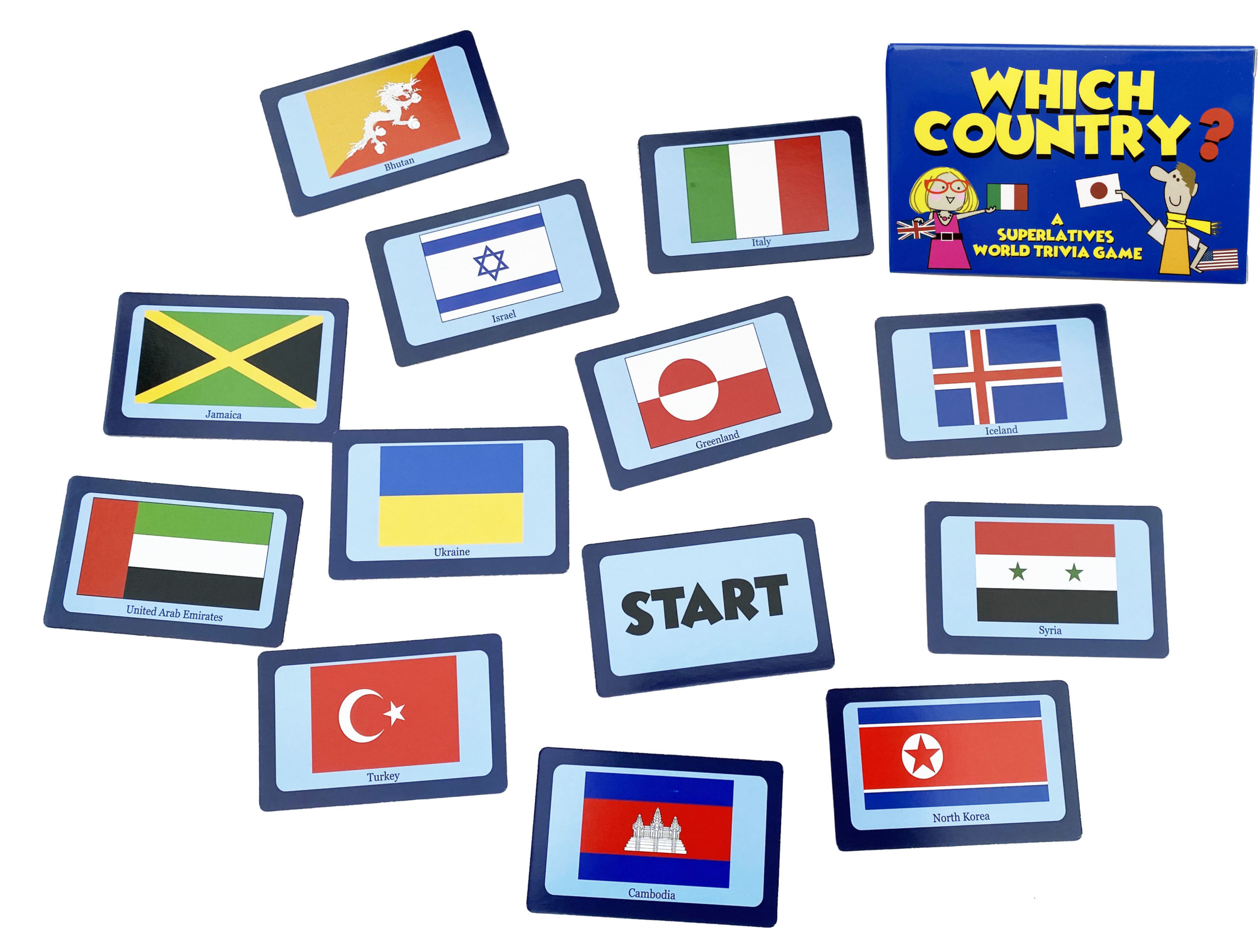 WHICH COUNTRY? Card game